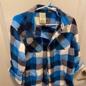 Button down shirt flannel
